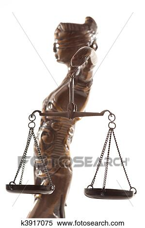 Stock Image Of Justitia Symbol Of Justice K3917075 Search Stock