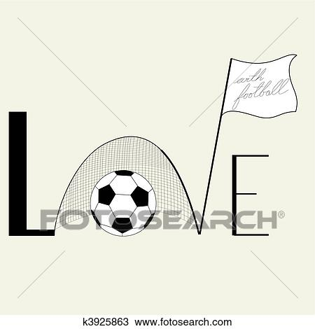 Download Inscription Love Clipart | k3925863 | Fotosearch
