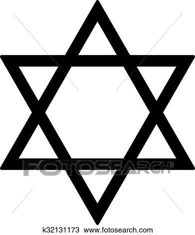 clipart of judaism star k32131173 search clip art illustration rh fotosearch com judaism images clip art English Clip Art