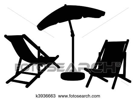 Drawing Of Garden Furniture Silhouettes K3936663 Search
