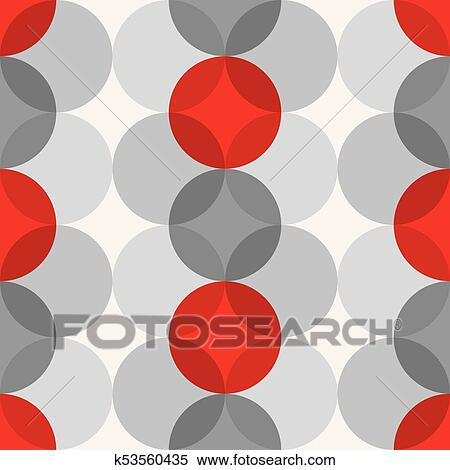 1950s Mid Century Modern Vintage Retro Atomic Seamless Background Pattern Fully Editable Vector Illustration For Web And Print