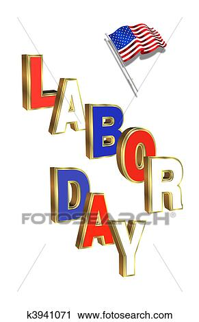 Labor Day Graphic Clip Art