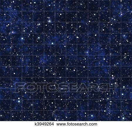 Star Map Art.Drawings Of Starmap Stars And Outer Space K3949264 Search Clip Art