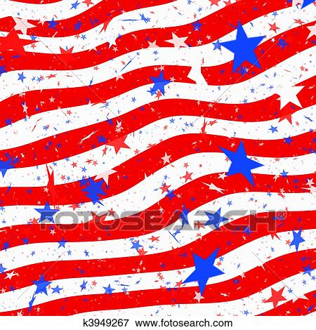 stock illustration of stars and stripes us flag k3949267 search rh fotosearch com stars and stripes clipart clip art stars and stripes clipart free
