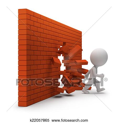 Stock Illustration Of 3d Small People