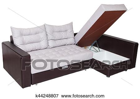 Corner Convertible Sofa Bed With