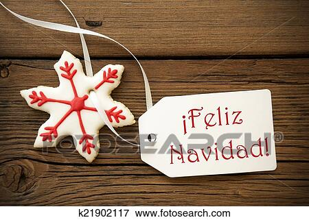 Picture of feliz navidad spanish christmas greetings k21902117 picture feliz navidad spanish christmas greetings fotosearch search stock photography photos m4hsunfo
