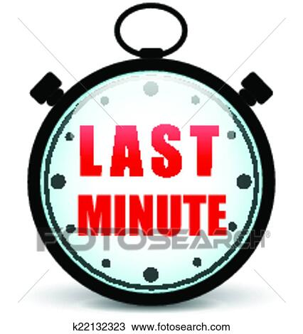 clipart of vector last minute stopwatch k22132323 search clip art