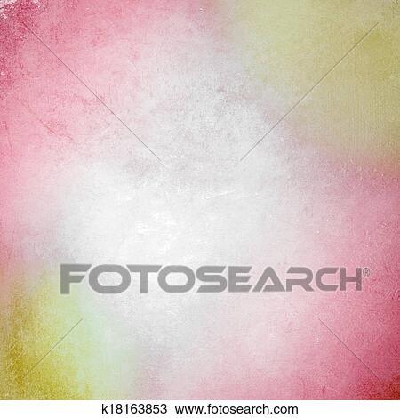 Giallo E Rosso Sfondo Pastello Disegno K18163853 Fotosearch