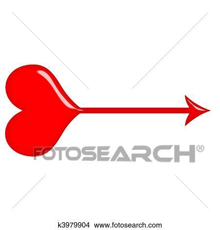 Disegni 3d amore freccia k3979904 cerca for Disegno 3d free