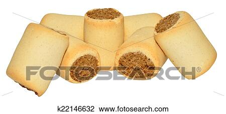 Marrowbone Filled Dog Biscuits Stock