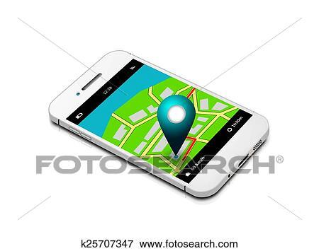 recherche telephone portable gps