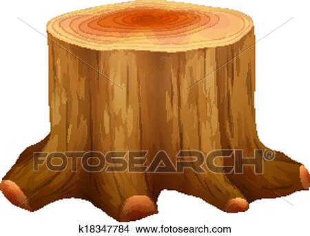 clipart of a stump of a big tree k18347784 search clip art rh fotosearch com tree stump clipart free old tree stump clipart free