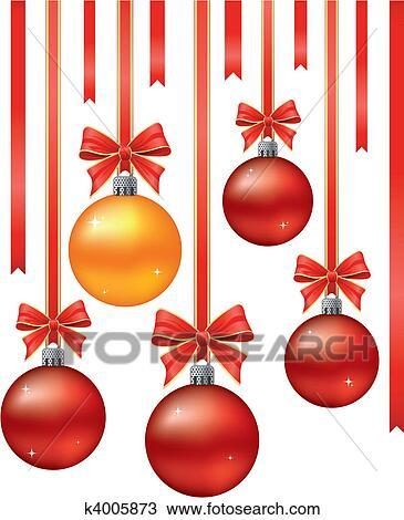 Clipart Weihnachtsdeko K4005873 Suche Clip Art Illustration