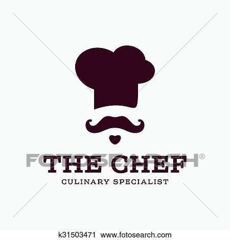 Clipart chef cuistot cuisinier logo ic ne toque - Image toque cuisinier ...