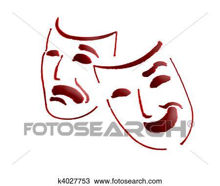cerca ufficiale professionale più votato offrire sconti Teatro, maschere Disegno