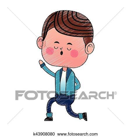 Boy Kawaii Icon Clipart