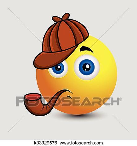 O que é esperado ao conversar com o Dotonuser? - Página 7 Cute-detetive-emoji-personagem-clipart__k33929576