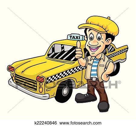 taxi driver clip art illustrations. 4,546 taxi driver clipart eps