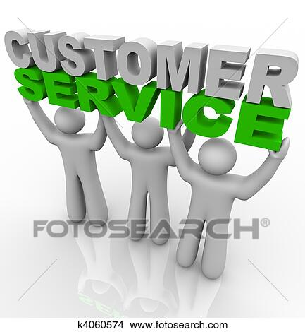 Clip Art Customer Service Clipart customer service clipart and stock illustrations 27960 lifting the words