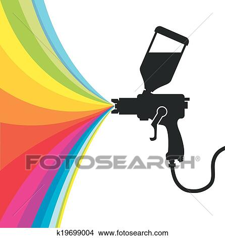 clipart of spray paint vector k19699004 search clip art rh fotosearch com car spray paint clipart spray paint bottle clipart