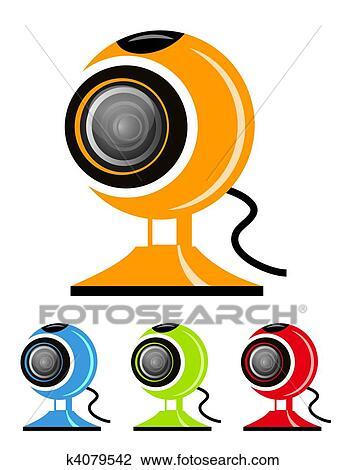 Webcam Dibujo K4079542 Fotosearch