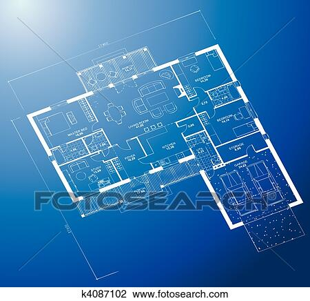 Clipart of architectural blueprint background vector k4087102 clipart architectural blueprint background vector fotosearch search clip art illustration murals malvernweather Image collections