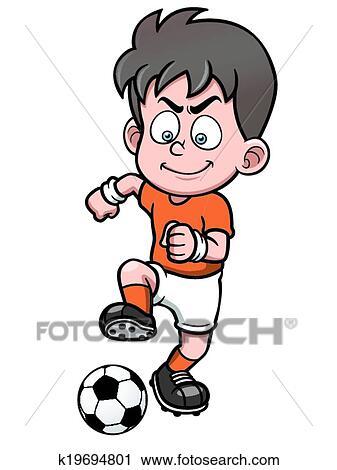 Fussballspieler Clipart
