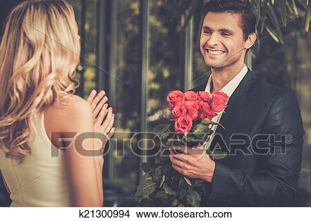 Dating a handsome man