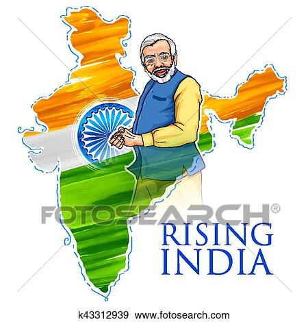 clip art of india map tricolor flag background with proud indian rh fotosearch com clip art indian bears clip art indian designs