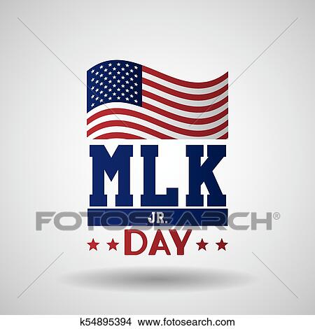 Clipart Of Martin Luther King Jr Day K54895394 Search Clip Art