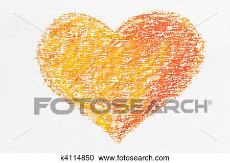 Crayon Background Clipart K4114850 Fotosearch