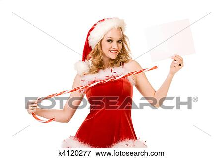 Sexy miss santa claus