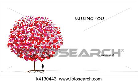 Clipart Of Valentine Day Card K4130443 Search Clip Art