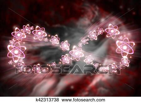 Pictures Of Atom Infinity Symbol K42313738 Search Stock Photos