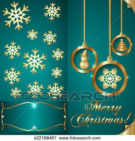 Clip art of vector abstart cyan blue christmas invitation card clip art vector abstart cyan blue christmas invitation card fotosearch search clipart stopboris Images