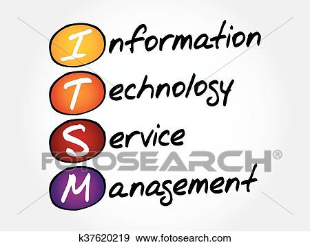 clip art of itsm information technology service k37620219 search rh fotosearch com information technology business clipart information technology clipart graphic