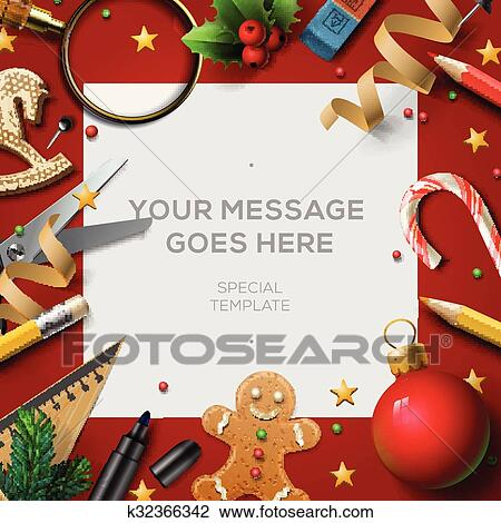 Christmas Break Clipart.School Holidays Christmas Break Poster Clipart