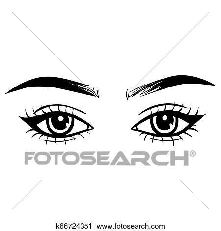 Eye Clipart Small - Eye Clipart Black And White , Free Transparent Clipart  - ClipartKey