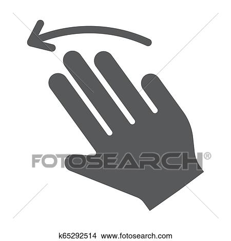 Three Fingers High Resolution Stock Photography and Images - Alamy