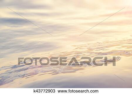 Kresba More Ocean Vlnitost Detail Zapad Slunce Bucet Roh