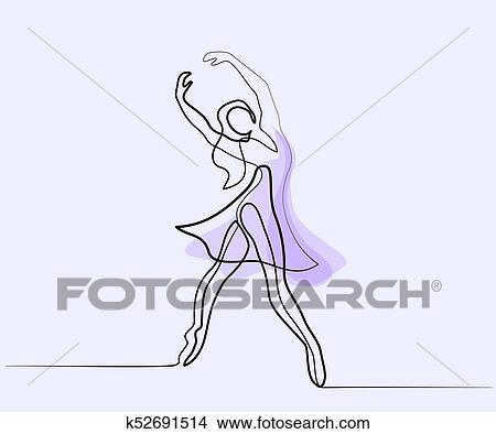Ballet Dancer Ballerina Clipart K52691514 Fotosearch