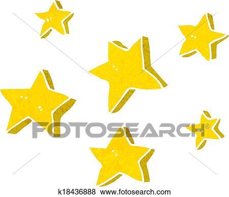 رسم كاريكتوري النجوم Clip Art K18436888 Fotosearch