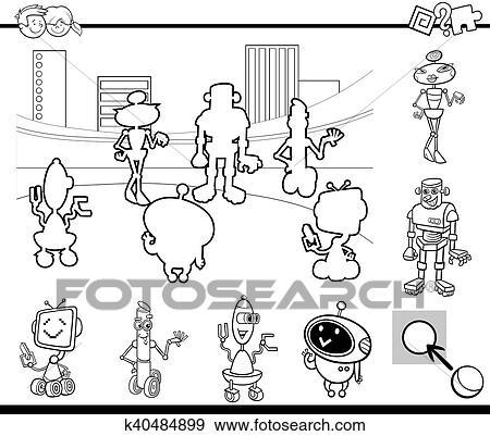Clip Art - educativo, juego, libro colorear k40484899 - Buscar Clip ...