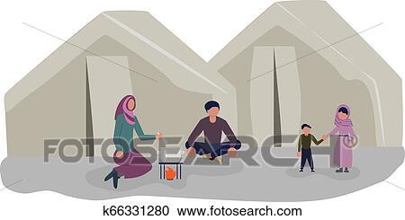 """Image result for refugee CAMP CARTOON"""""""