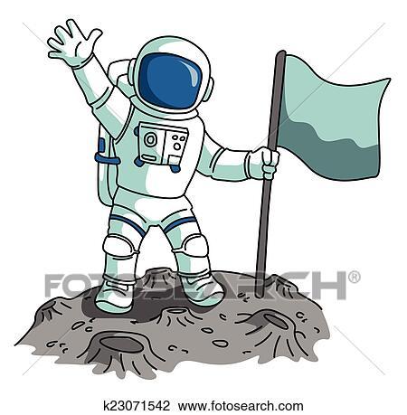clipart of astronaut k23071542 search clip art illustration rh fotosearch com clipart astronaut helmet clipart astronaute