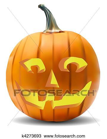 Pompoen Voor Halloween.Pompoen Halloween Farceren Tekening