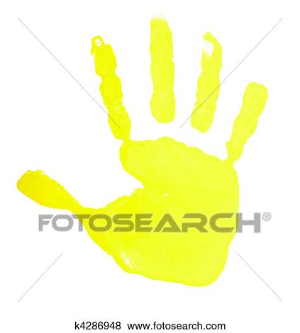 pictures of hand print color art craft trace paint k4286948 search