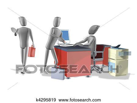 Lavoro Ufficio Clipart : Archivio illustrazioni lavoro ufficio k cerca clipart