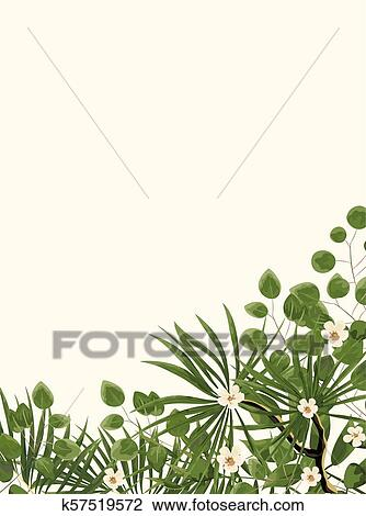 Wedding Invitation Template With Peonies Flowers And Green